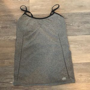 ALO Yoga tank with built in bra